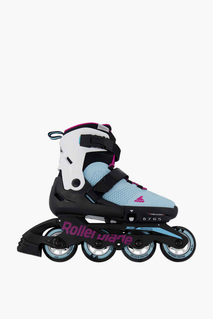 Rollerblade Maxx inlineskates filles Couleur Bleu clair 1