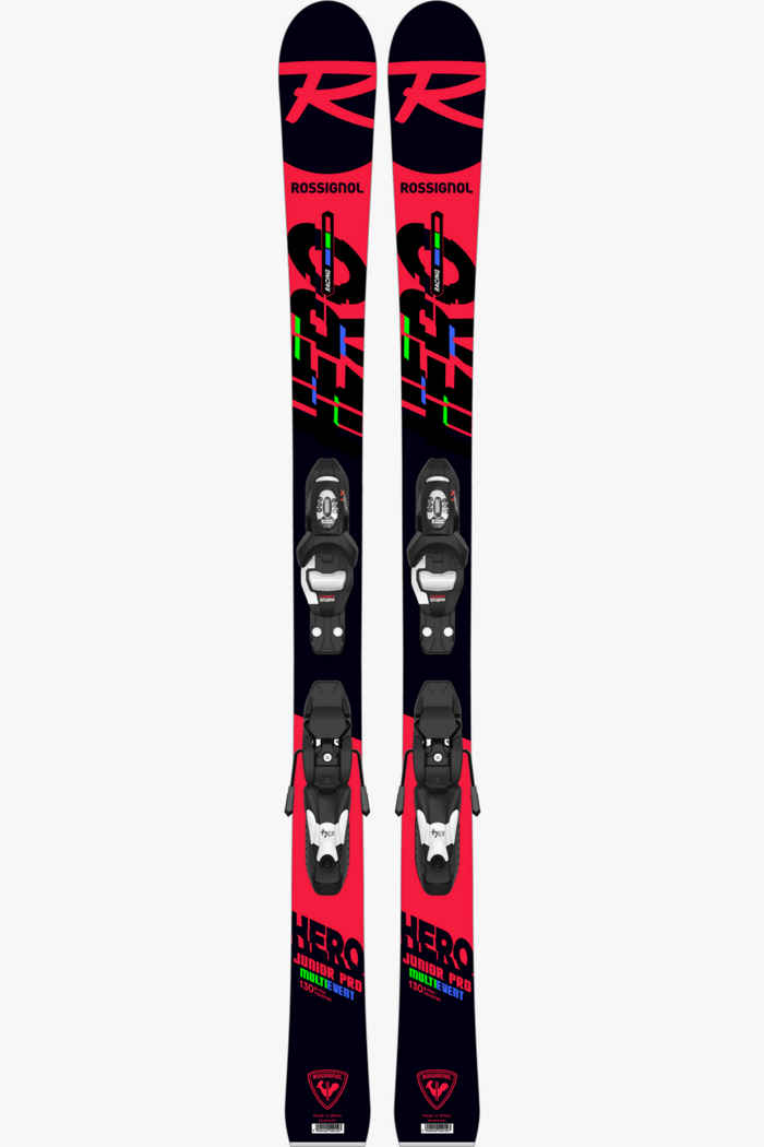 Rossignol Hero Multi-Event 120 cm - 130 cm Kinder Ski Set 20/21 1