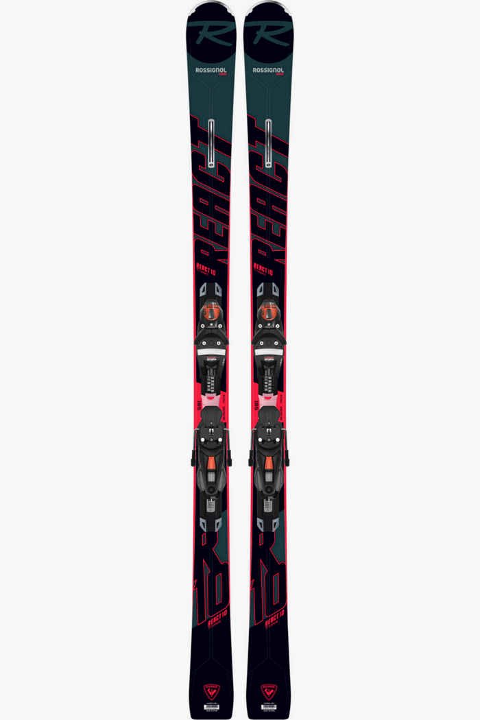 Rossignol React 10 TI Ski Set 20/21 1