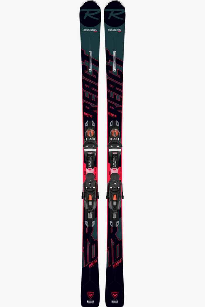 Rossignol React 10 TI Ski Set 21/22 1