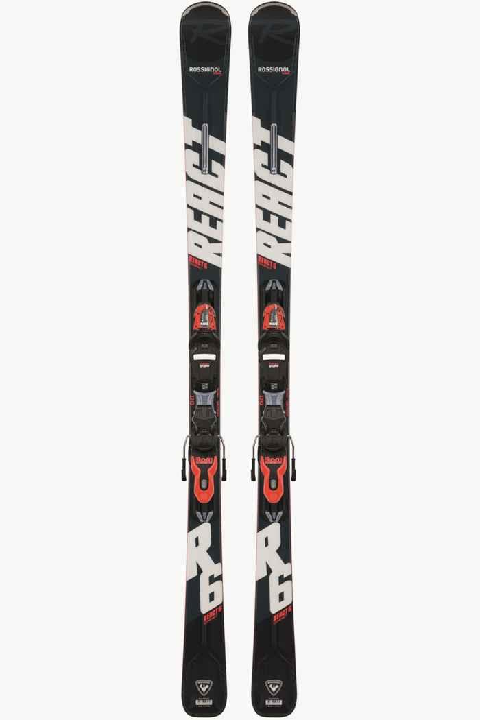 Rossignol React R6 Compact ski set 21/22 1