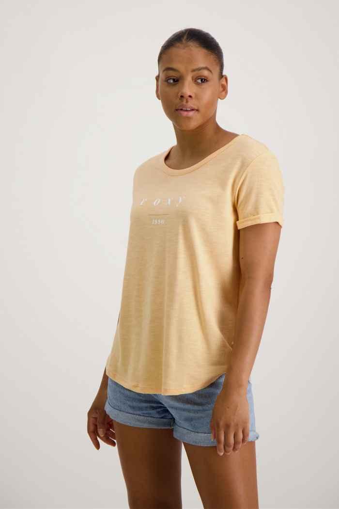 Roxy Oceanholic t-shirt femmes Couleur Apricot 1