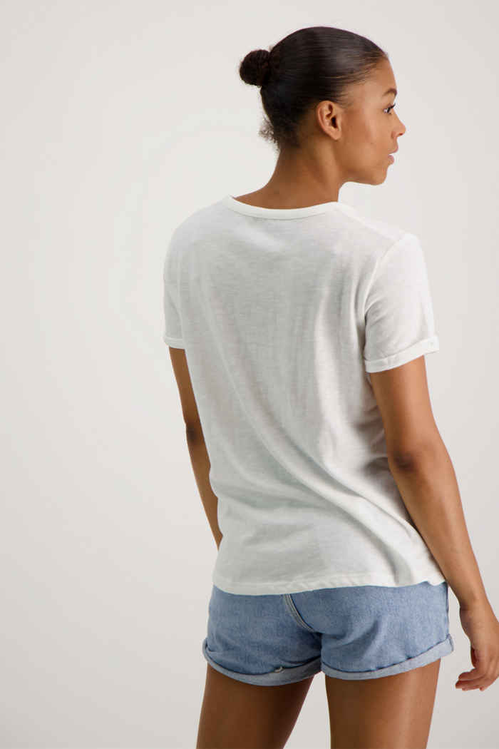 Roxy Oceanholic t-shirt femmes Couleur Blanc 2