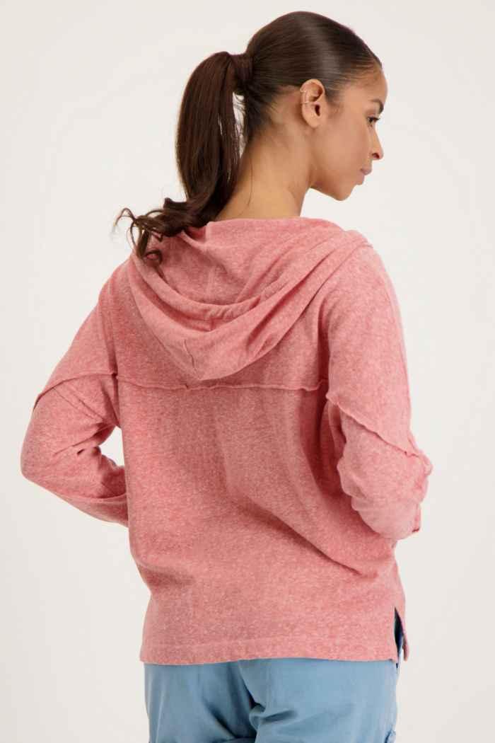 Roxy Sunrise Surf hoodie donna Colore Corallo 2