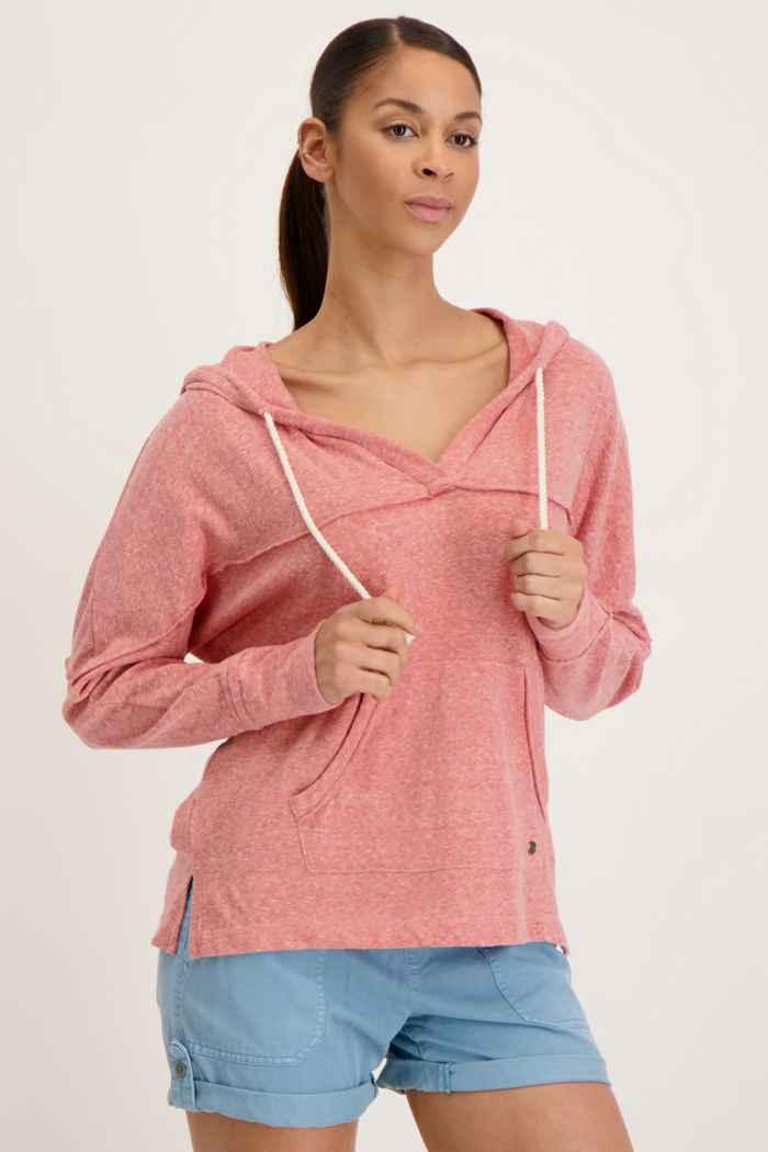 Roxy Sunrise Surf hoodie femmes Couleur Coral 1