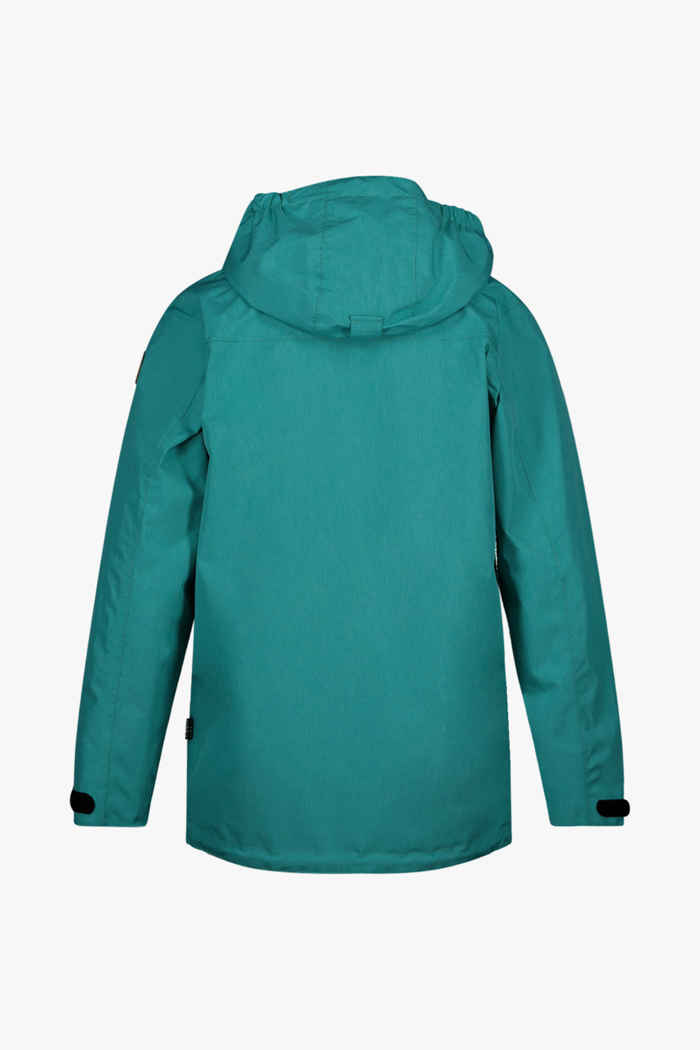 Rukka Gismo giacca impermeabile bambini Colore Turchese 2