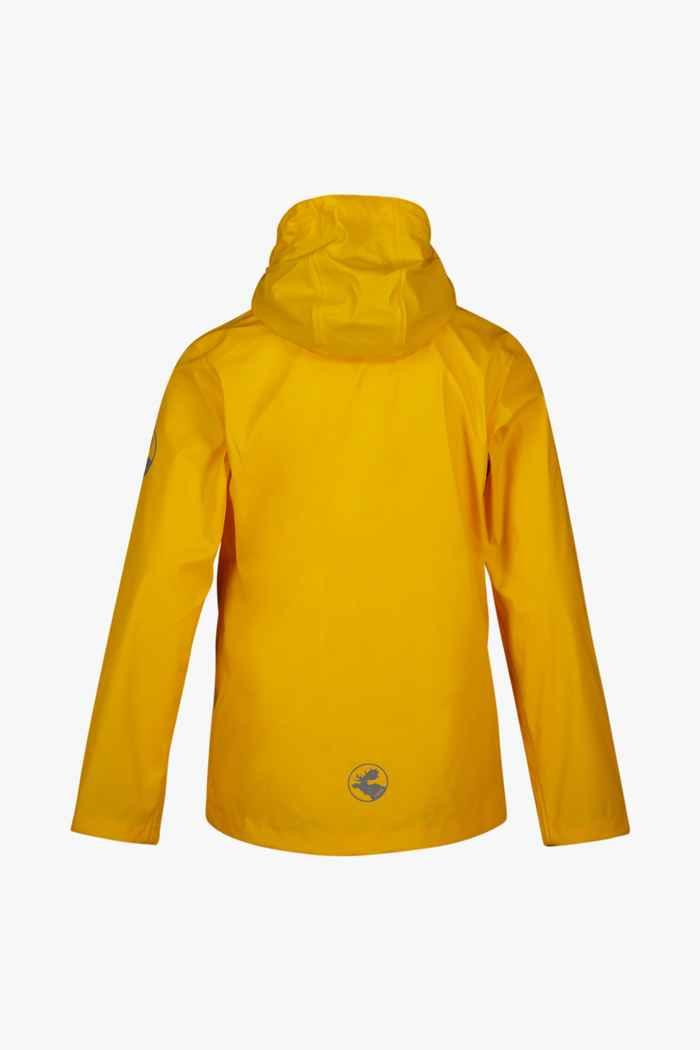 Rukka June Kinder Regenjacke Farbe Gelb 2