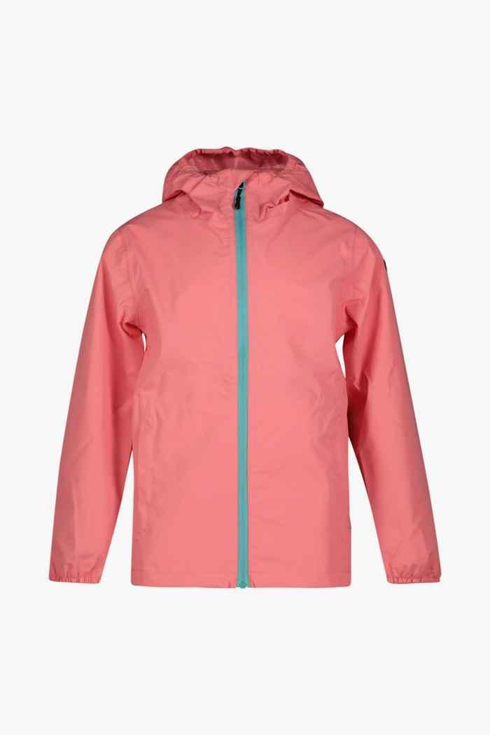 Rukka Travellight veste imperméable enfants Couleur Rose vif 1