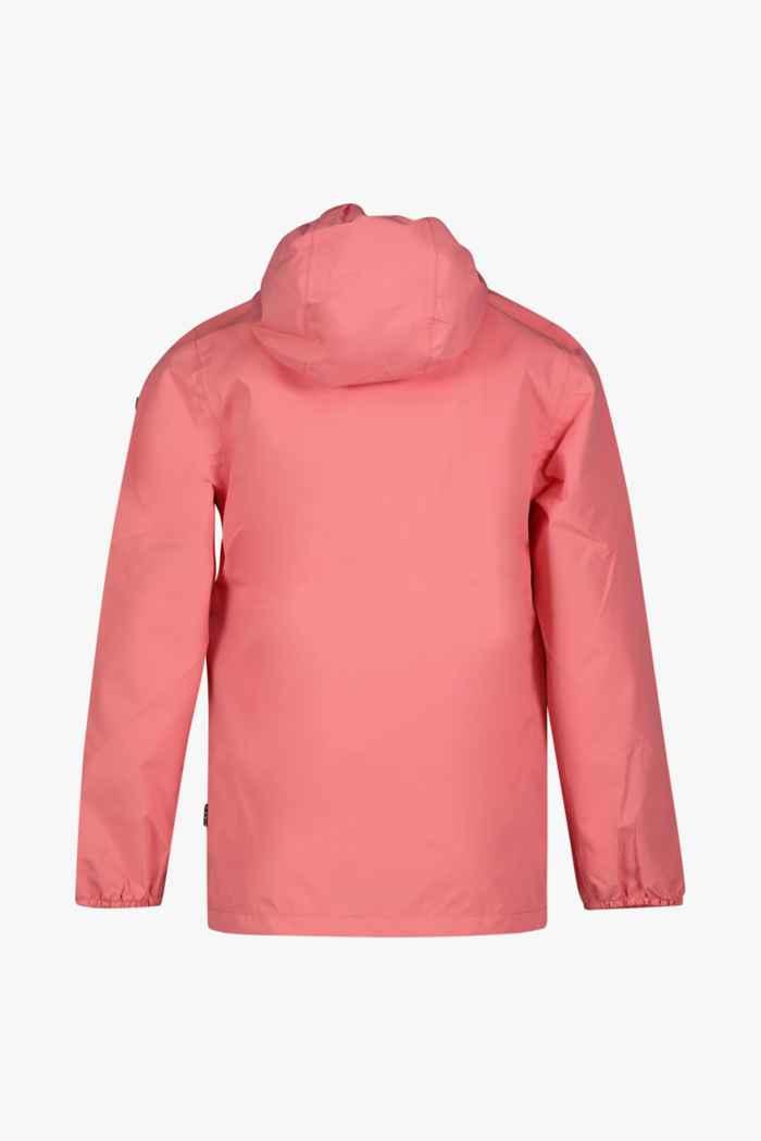Rukka Travellight veste imperméable enfants Couleur Rose vif 2