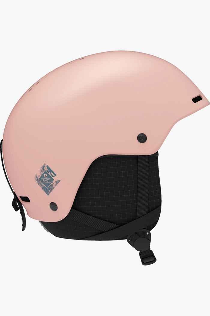 Salomon Pact casque de ski filles Couleur Rose 1