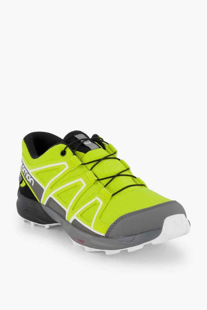 Salomon Speedcross CSWP chaussures de trailrunning enfants Couleur Jaune 1