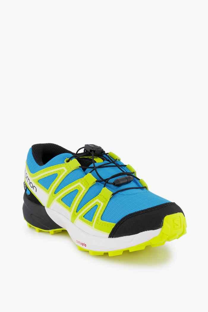 Salomon Speedcross CSWP Kinder Trailrunningschuh Farbe Ozeanblau 1