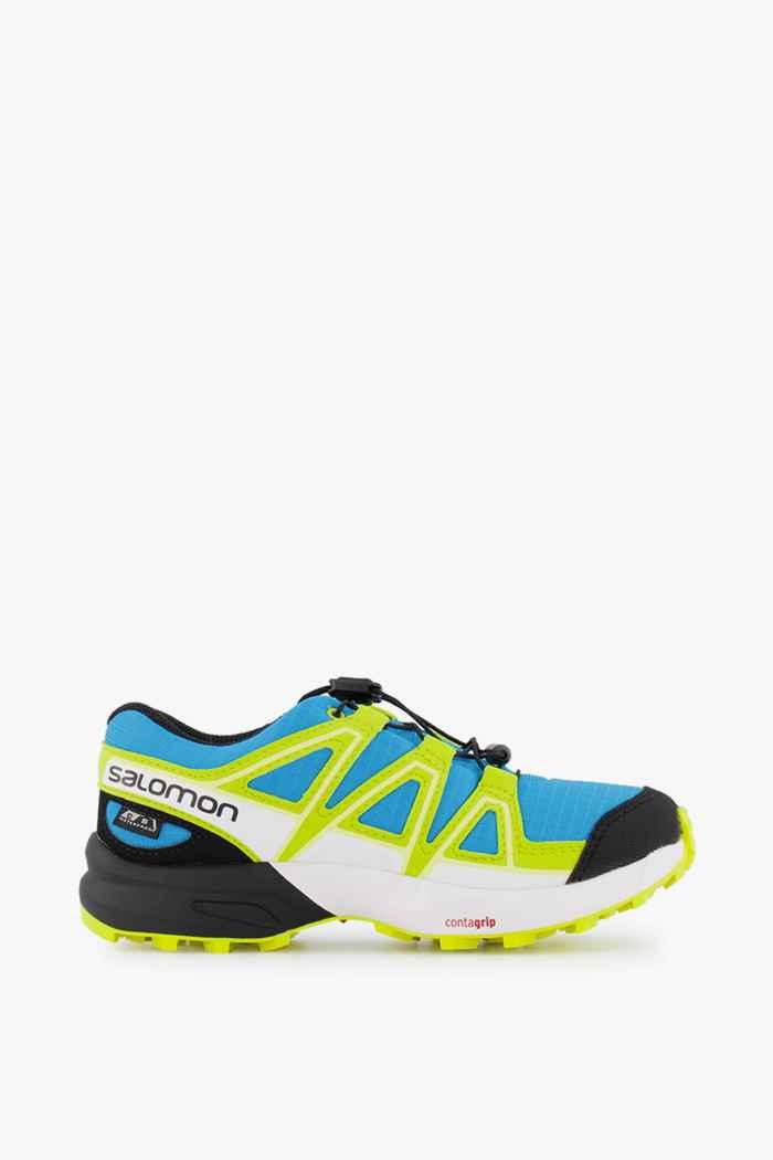 Salomon Speedcross CSWP Kinder Trailrunningschuh Farbe Ozeanblau 2