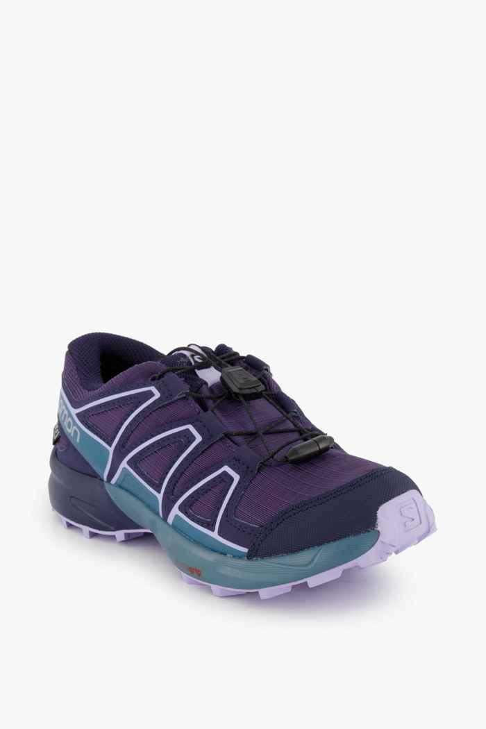 Salomon Speedcross CSWP Kinder Trailrunningschuh Farbe Violett 1