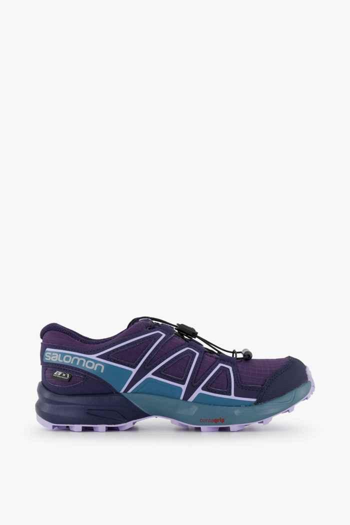 Salomon Speedcross CSWP Kinder Trailrunningschuh Farbe Violett 2