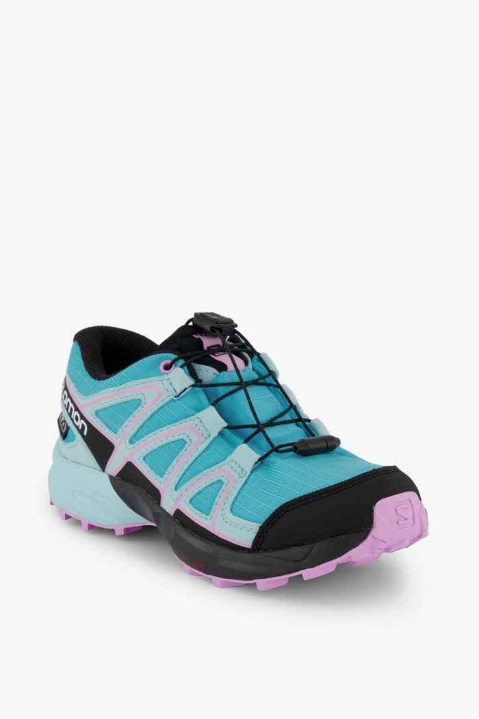 Salomon Speedcross CSWP Mädchen Trailrunningschuh Farbe Blau 1