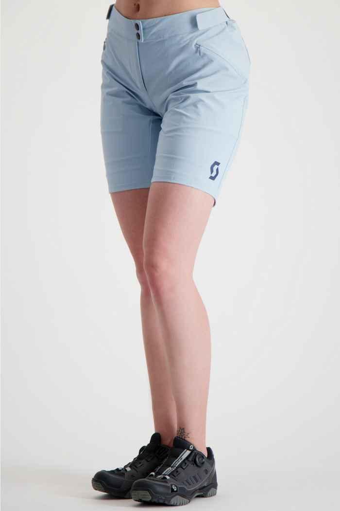 Scott Endurance+ Damen Bikeshort Farbe Hellblau 1