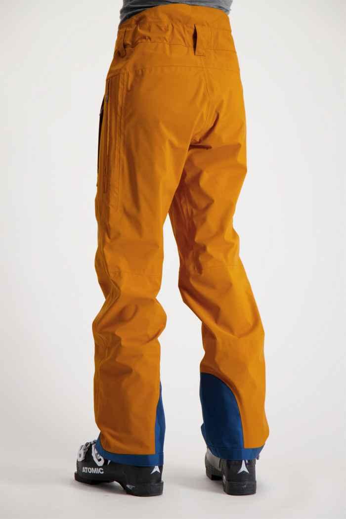 Scott Explorair 3L Damen Skihose Farbe Braun 2