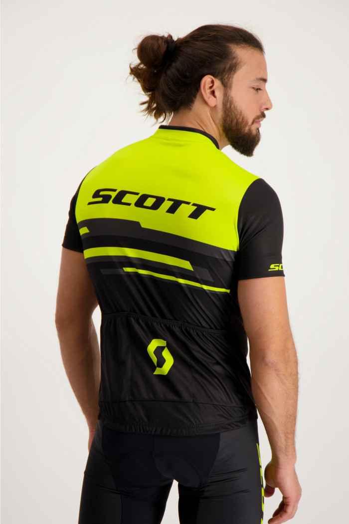 Scott RC Team 20 Herren Biketrikot Farbe Schwarz-neongelb 2