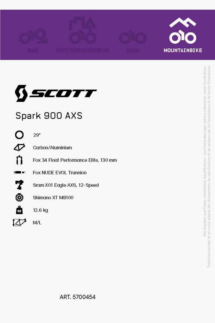 Scott Spark 900 AXS 29 mountainbike hommes 2021 2