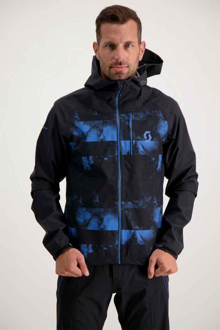Scott Trail Storm WP Herren Bikejacke Farbe Blau-schwarz 1
