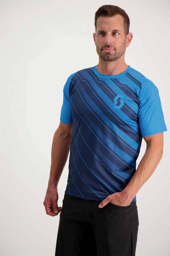 Scott Trail Vertic maillot de bike hommes Couleur Bleu 1