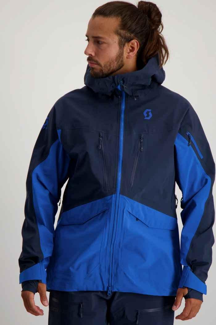 Scott Vertic DRX 3L veste de ski hommes Couleur Bleu 1