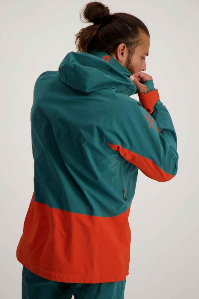 Scott Vertic DRX 3L veste de ski hommes Couleur Orange 2