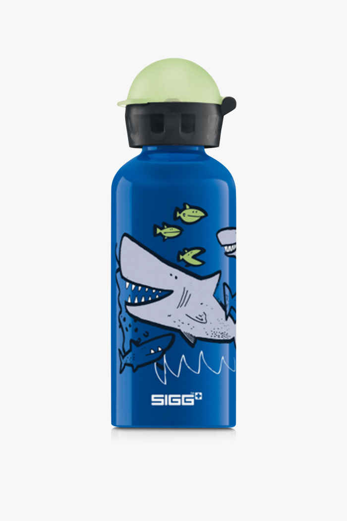 Sigg Alu 400 ml Kinder Trinkflasche Farbe Blau 1