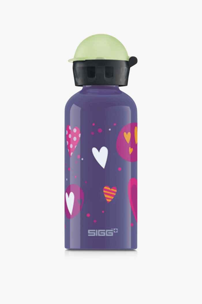Sigg Alu 400 ml Kinder Trinkflasche Farbe Violett 1