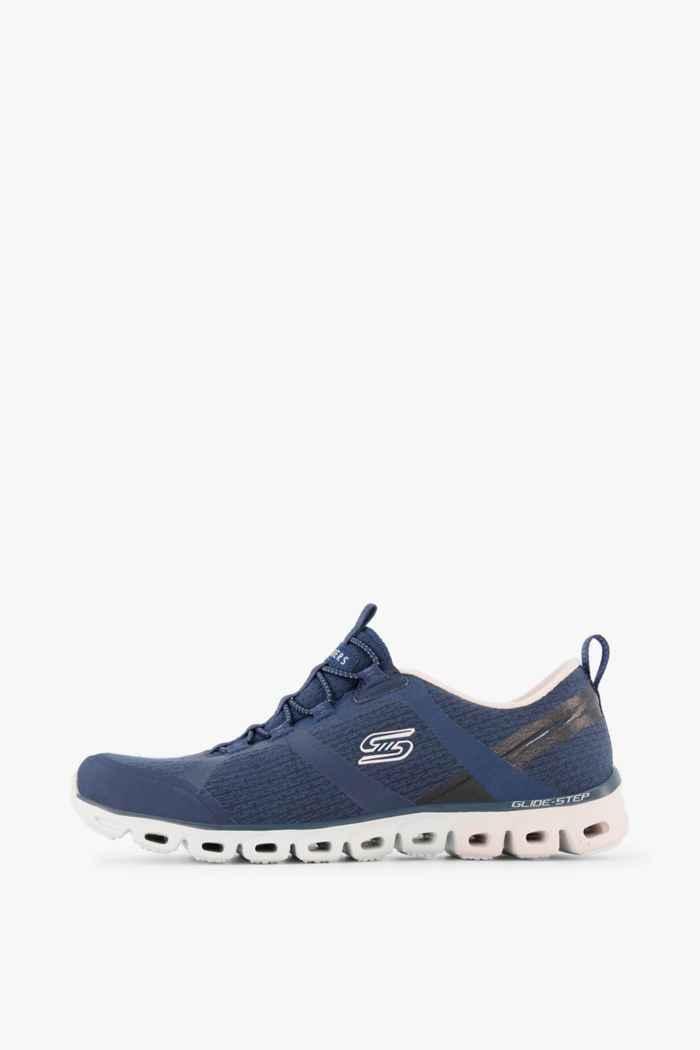 Skechers Glide Step sneaker donna Colore Blu 2