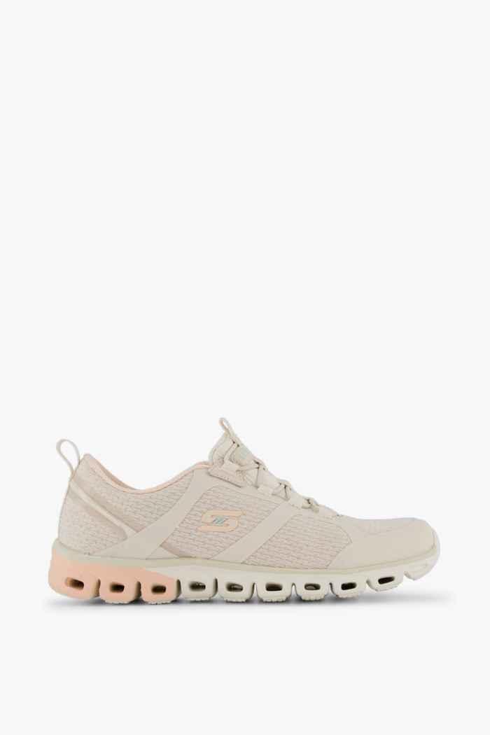 Skechers Glide Step sneaker donna Colore Crema 2