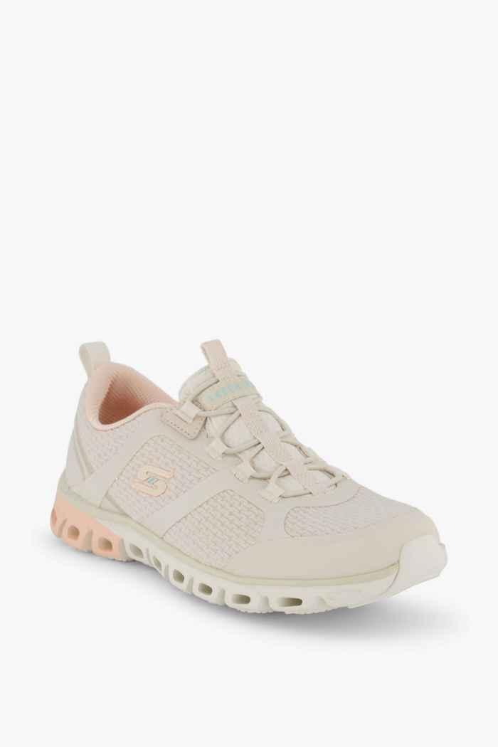 Skechers Glide Step sneaker femmes Couleur Crème 1
