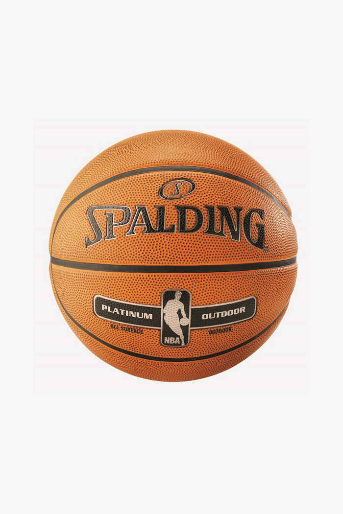 Spalding NBA Platinum Outdoor ballon de basket 1