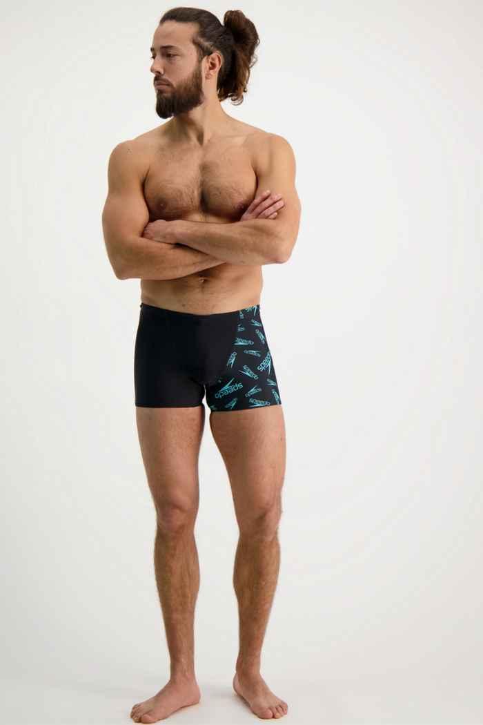Speedo Allover V-Cut maillot de bain hommes 1
