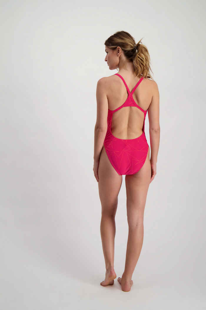 Speedo Boomstar Allover Turnback maillot de bain femmes 2