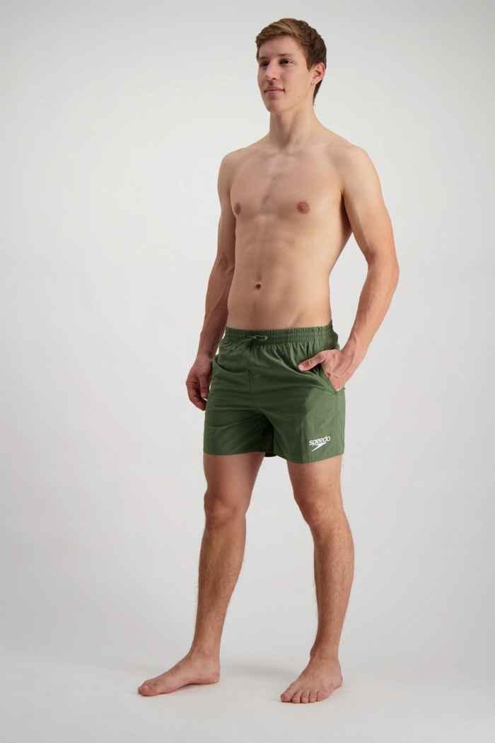 Speedo Essential maillot de bain hommes Couleur Olive 1