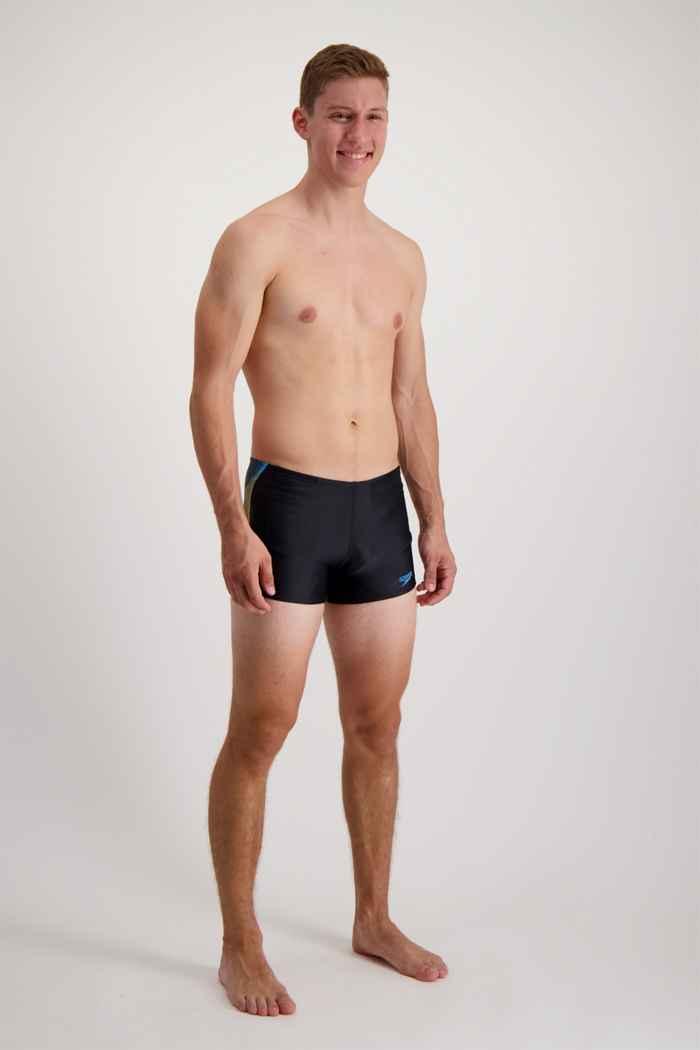 Speedo Tech Panel maillot de bain hommes Couleur Noir 1