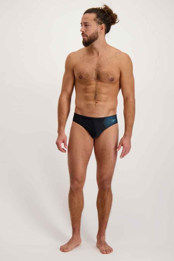 Speedo Tech Placement 7 cm slip de bain hommes 1