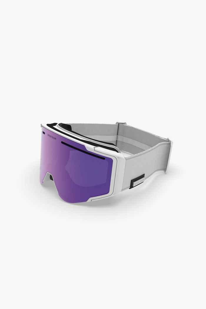 Spektrum Östra Bio occhiali da sci Colore Bianco 1