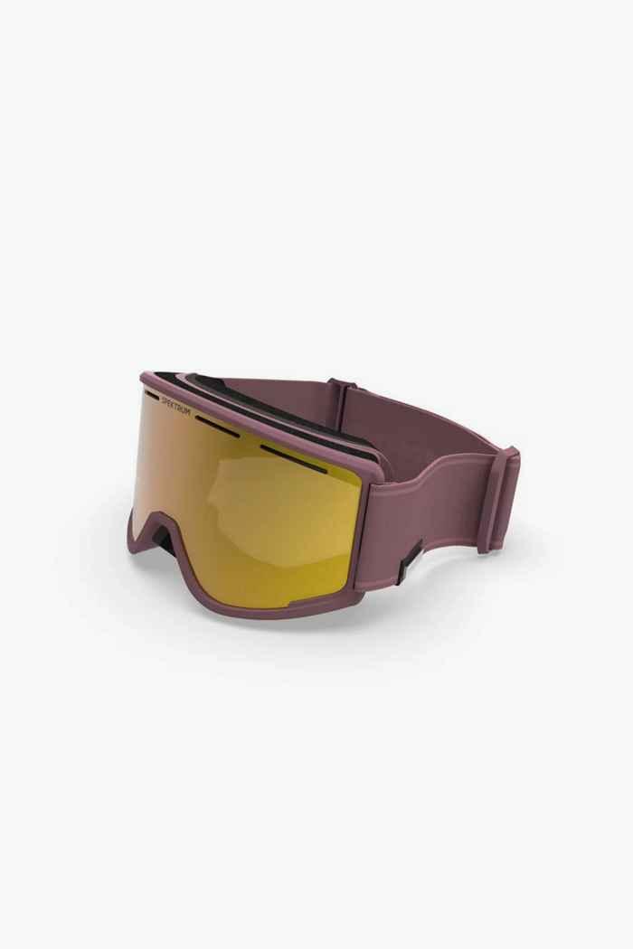 Spektrum Templet Bio Skibrille Farbe Rosa 1