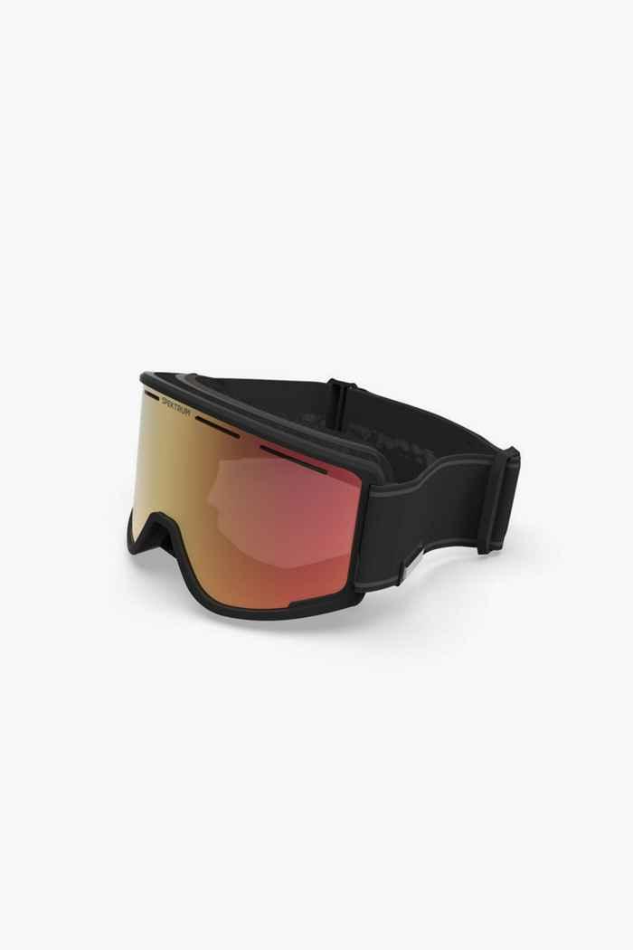 Spektrum Templet Bio Skibrille Farbe Schwarz 1