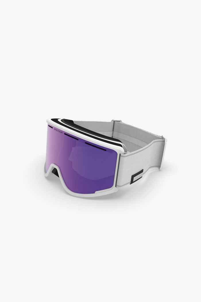 Spektrum Templet Bio Skibrille Farbe Weiß 1