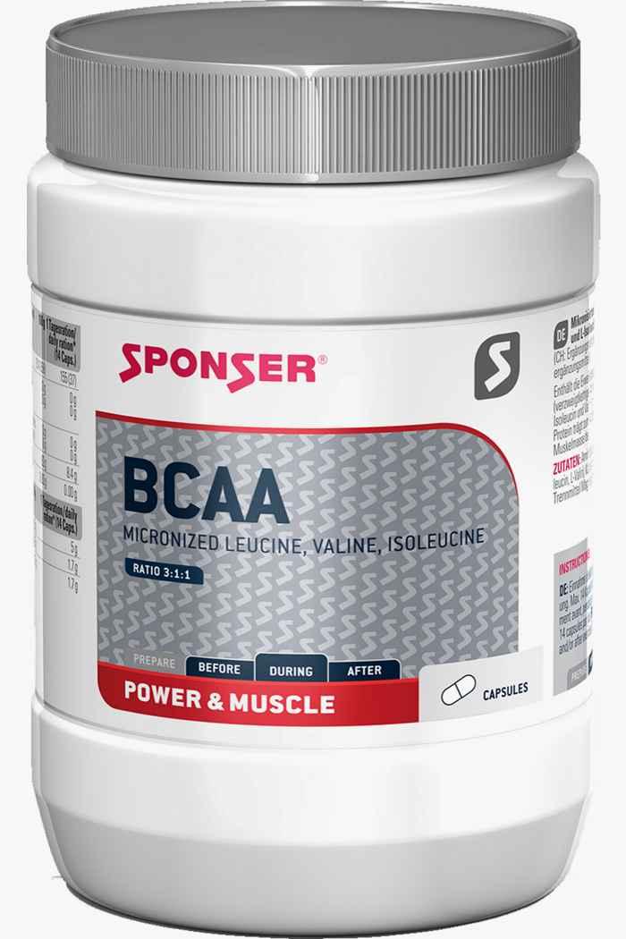 Sponser BCAA Neutral Vanilla 255 g capsule 1