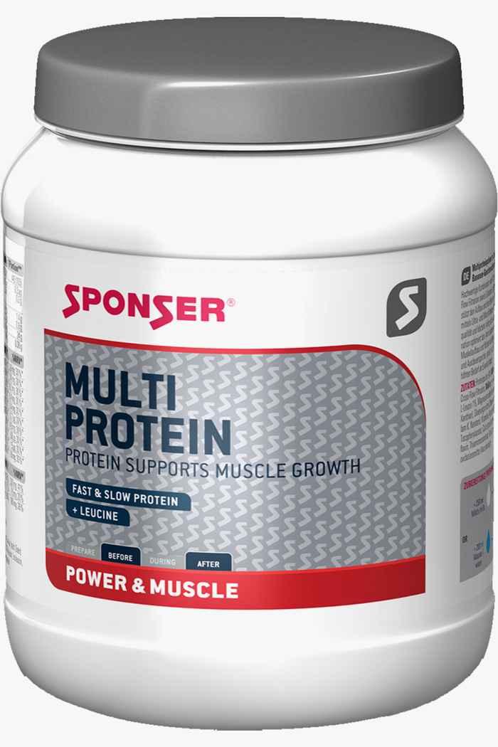 Sponser Multi Protein Strawberry 425 g polvere proteica 1