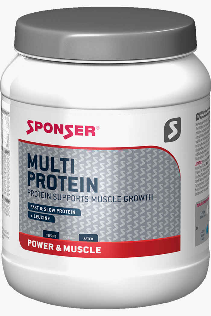 Sponser Multi Protein Vanilla 425 g polvere proteica 1