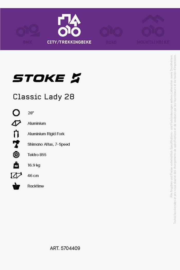 Stoke Classic 28 citybike femmes 2021 2