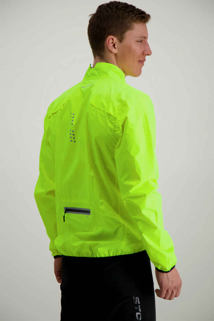 Stoke Eco Neon giacca da bike uomo 2