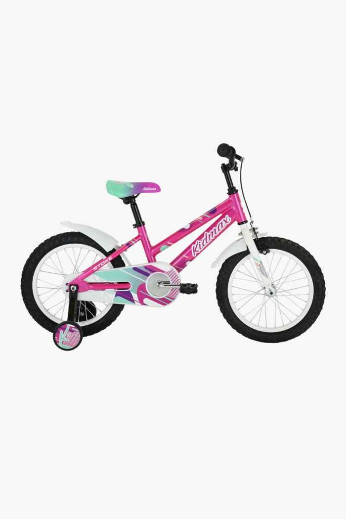 Stoke Kidmax 16 citybike filles Couleur Rose vif 1