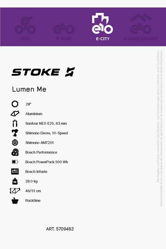 Stoke Lumen 28 e-bike uomo 2021 2